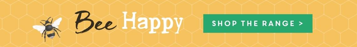 Bee Happy Range Advert